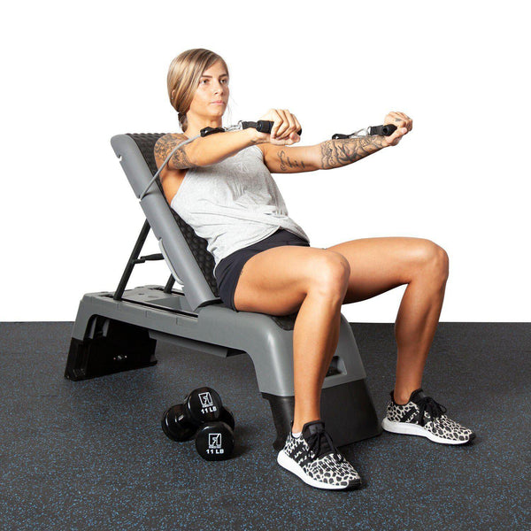 Morgan Elite Workout Platform Aerobic Step-MO REPS® Fitness Store