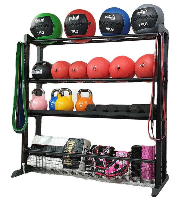 Morgan Sports Endurance Gym Storage Rack
