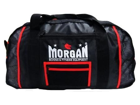 Morgan Endurance Pro Mesh Gear Bag-Red-MO REPS® Fitness Store