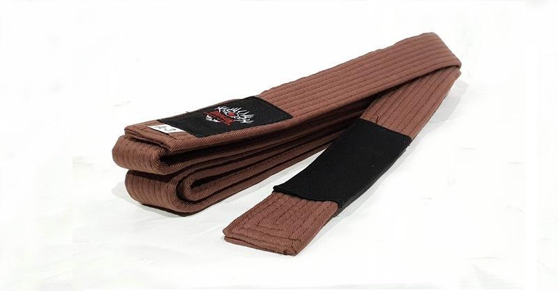 Morgan IBJJF Approved BJJ Belt-A-1-Brown-MO REPS® Fitness Store
