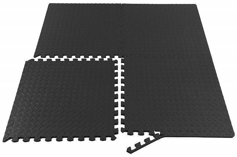 Morgan Interlocking EVA Stall Mats (1M X 1M X 10mm) - Bulk Buy-MO REPS® Fitness Store