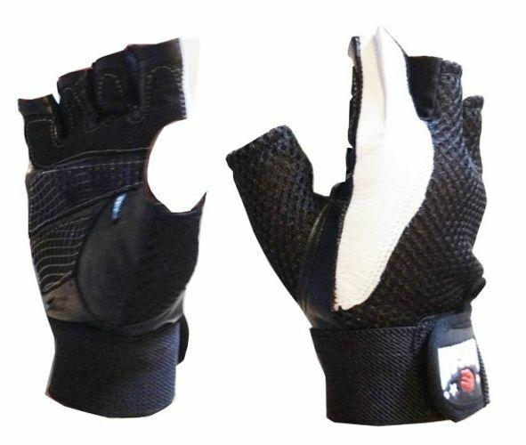 Morgan Leather & Mesh Weight Gloves-MO REPS® Fitness Store