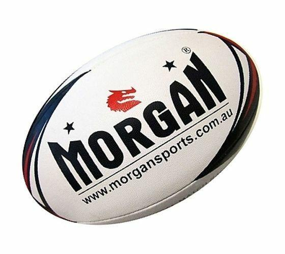 Morgan Match 4-Ply Rugby League Ball-MO REPS® Fitness Store