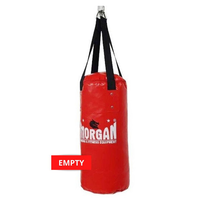 Morgan Mini & Skinny Punch Bag-EMPTY-RED-MO REPS® Fitness Store