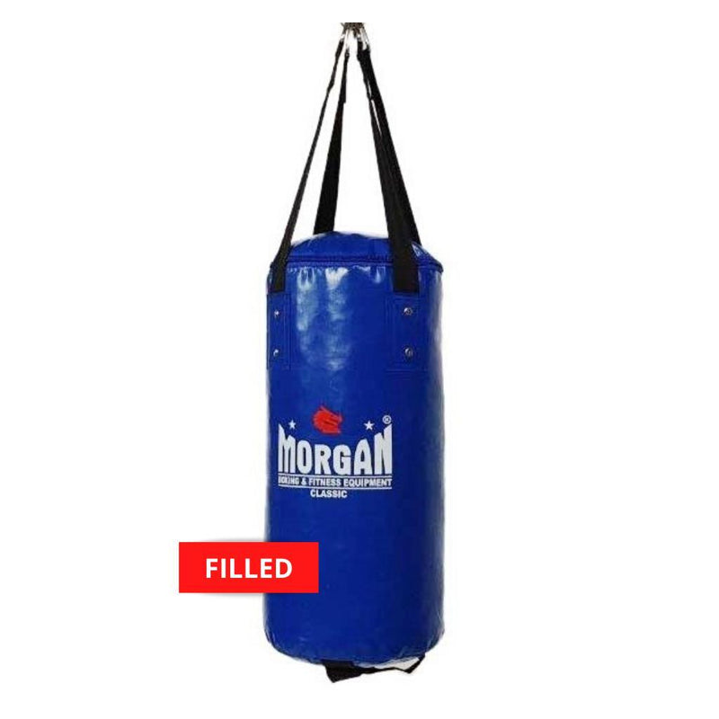Morgan Mini & Skinny Punch Bag-FILLED-BLUE-MO REPS® Fitness Store