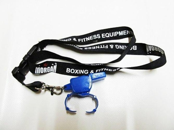 Morgan Pealess Blaster Whistle + DLX Lanyard-MO REPS® Fitness Store