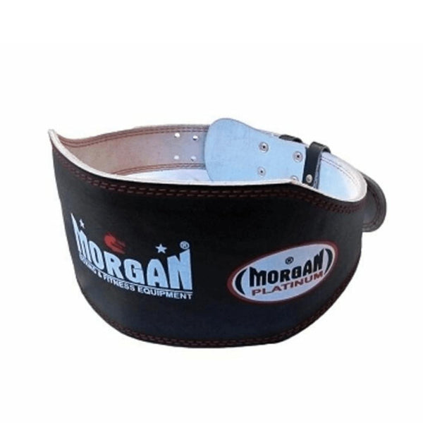 Morgan Platinum 15cm Wide Leather Weight Lifting Belt-X-SMALL-MO REPS® Fitness Store