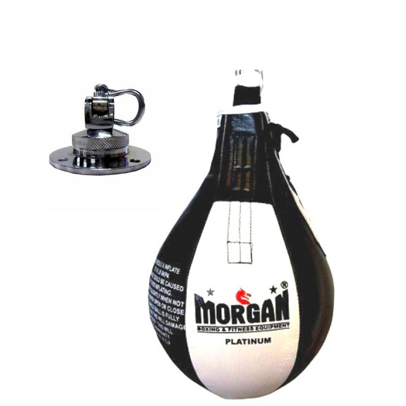 Morgan Platinum Leather 10inch Speedball Kit-MO REPS® Fitness Store