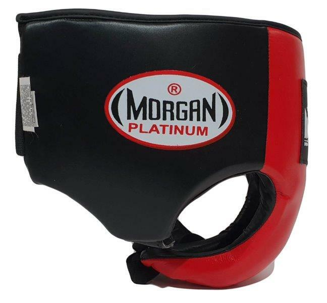Morgan Platinum Leather Abdominal Groin Guard-MO REPS® Fitness Store
