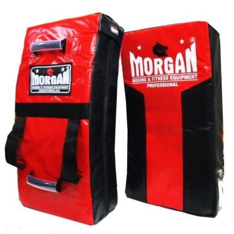 Morgan Pro Heavy Duty Large Curved Strike & Hit Shield-RED-MO REPS® Fitness Store