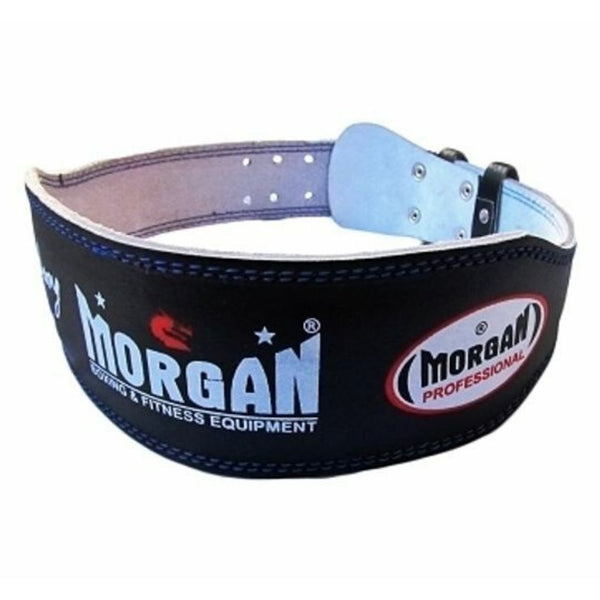Morgan Professional 10cm Wide Weight Lifting Belt-SMALL-MO REPS® Fitness Store