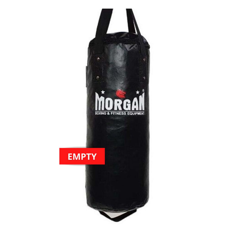 Morgan Short & Skinny Punch Bag-EMPTY-BLACK-MO REPS® Fitness Store