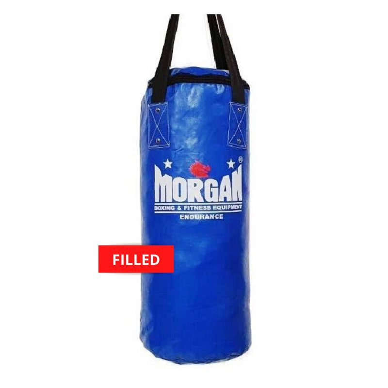 Morgan Short & Skinny Punch Bag-FILLED-BLUE-MO REPS® Fitness Store