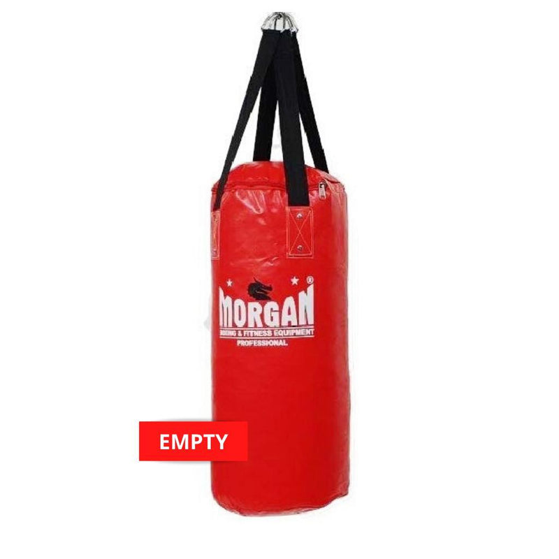 Morgan Small Nugget Punch Bag-EMPTY-RED-MO REPS® Fitness Store