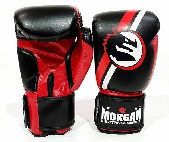 Morgan V2 Classic Boxing Gloves-8oz-RED-MO REPS® Fitness Store