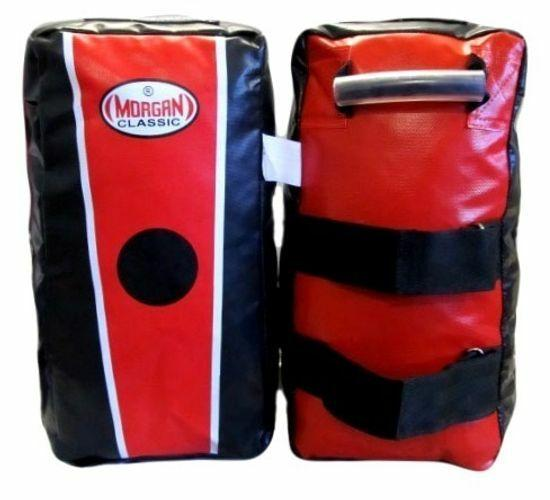 Morgan V2 Classic Rag-Filled Thai Pads (Pair)-MO REPS® Fitness Store