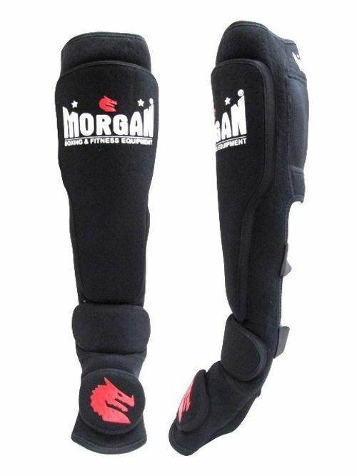 Morgan V2 Neoprene Shin & Instep Protector (Pair)-MO REPS® Fitness Store