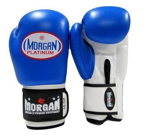 Morgan V2 Platinum Leather Sparring Gloves (10oz-16oz)-MO REPS® Fitness Store