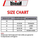 Morgan V2 Professional Curved Leather Bag Mitts-MO REPS® Fitness Store