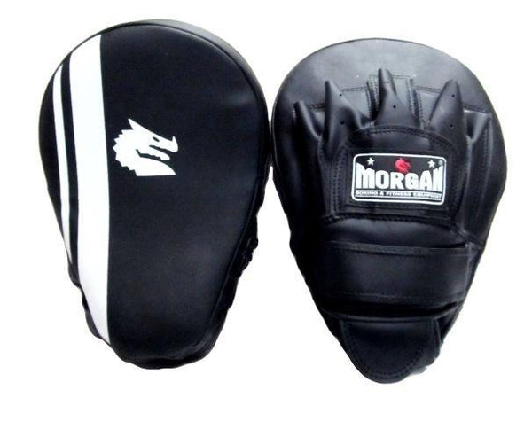 Morgan V2 Professional Focus Pads (Pair)-WHITE-MO REPS® Fitness Store