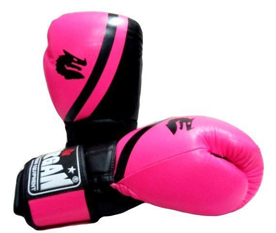Morgan V2 Professional Leather Boxing Gloves-10oz-Pink-MO REPS® Fitness Store