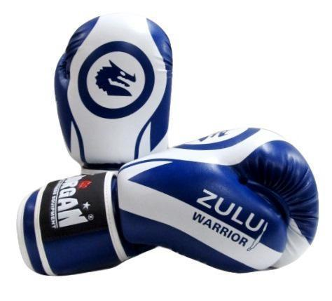 Morgan V2 Zulu Warrior Sparring Gloves (6oz-16oz)-10oz-Blue-MO REPS® Fitness Store