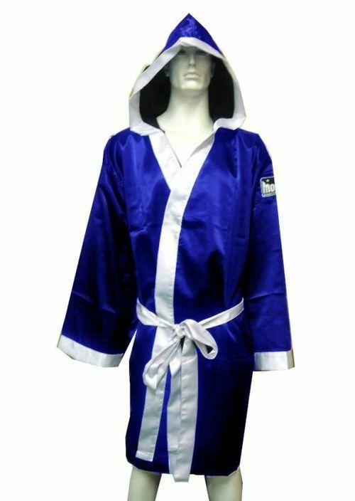 Morgan Walk Out Boxing Robe-BLUE-MO REPS® Fitness Store
