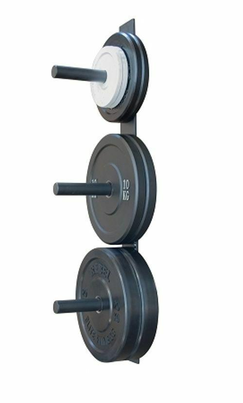 Morgan Wall-Mounted Bumper Plate Storage Rack-MO REPS® Fitness Store