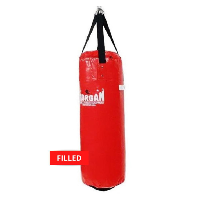 Morgan X-Large Nugget Punch Bag-Filled-Red-MO REPS® Fitness Store