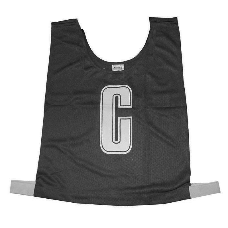Black Netball Bib Set