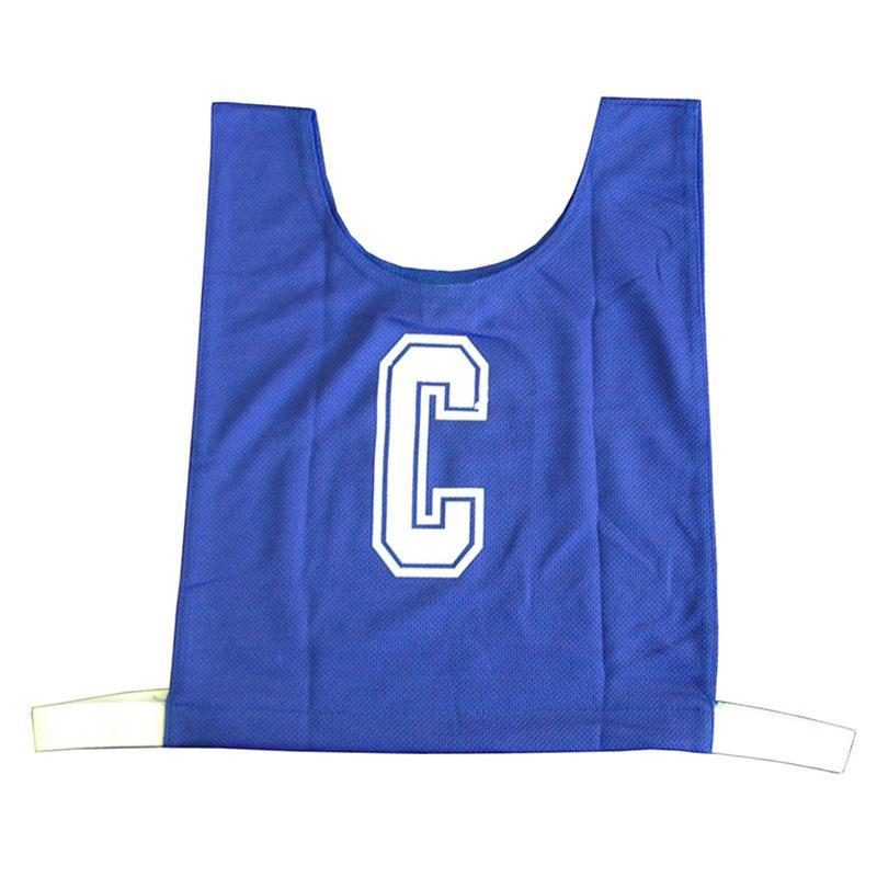 Blue Netball Bib Set
