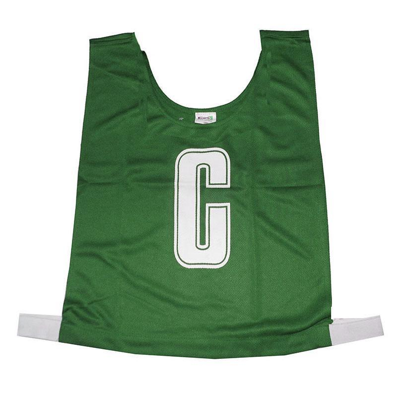 Green Netball Bib Set
