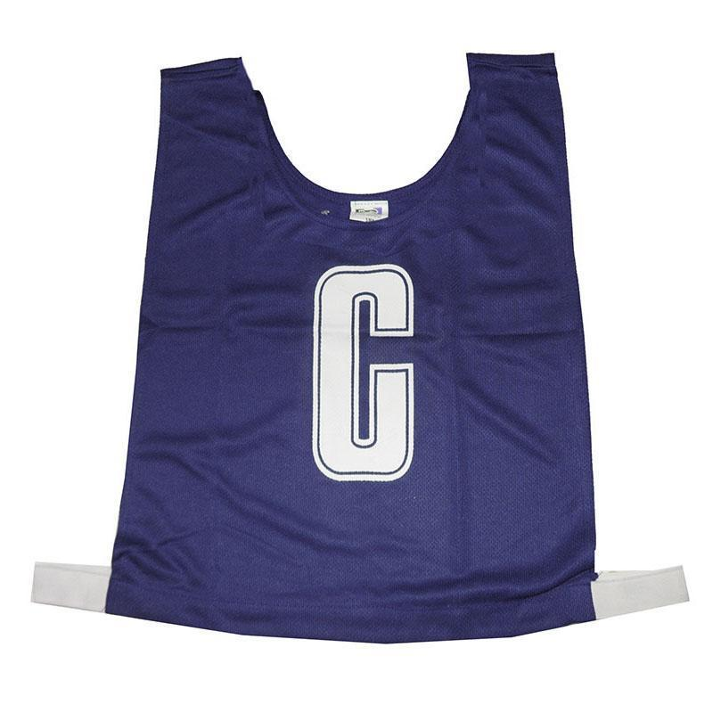 Navy Netball Bib Set