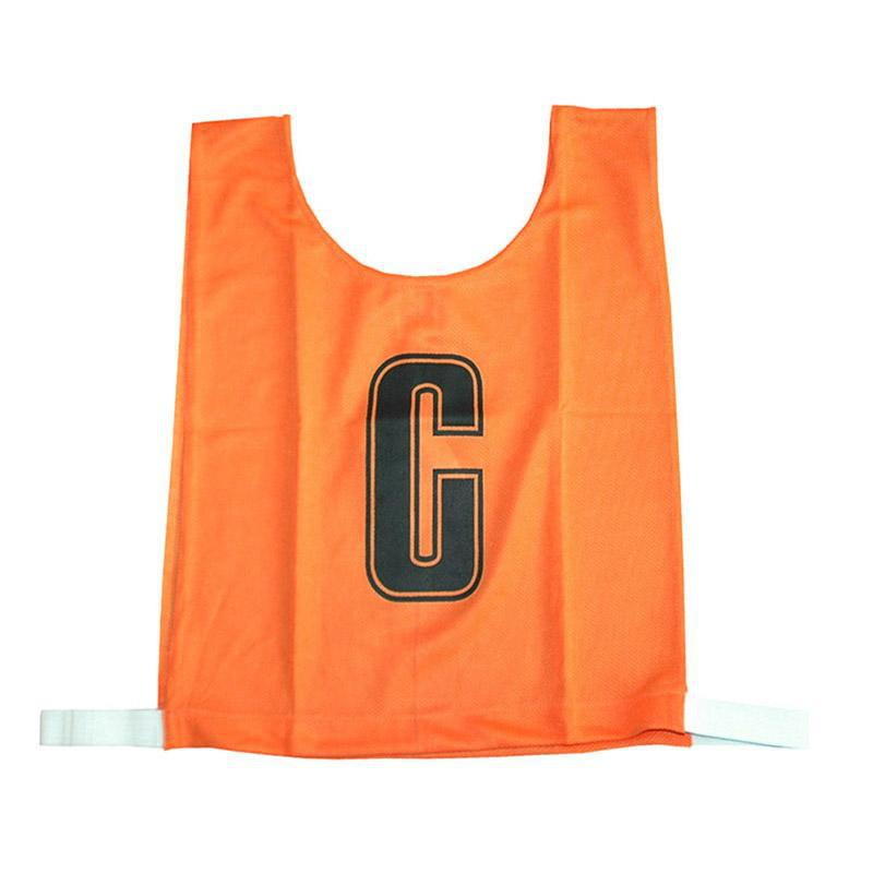 Orange Netball Bib Set