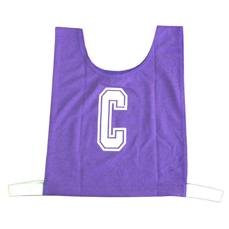 Purple Netball Bib Set