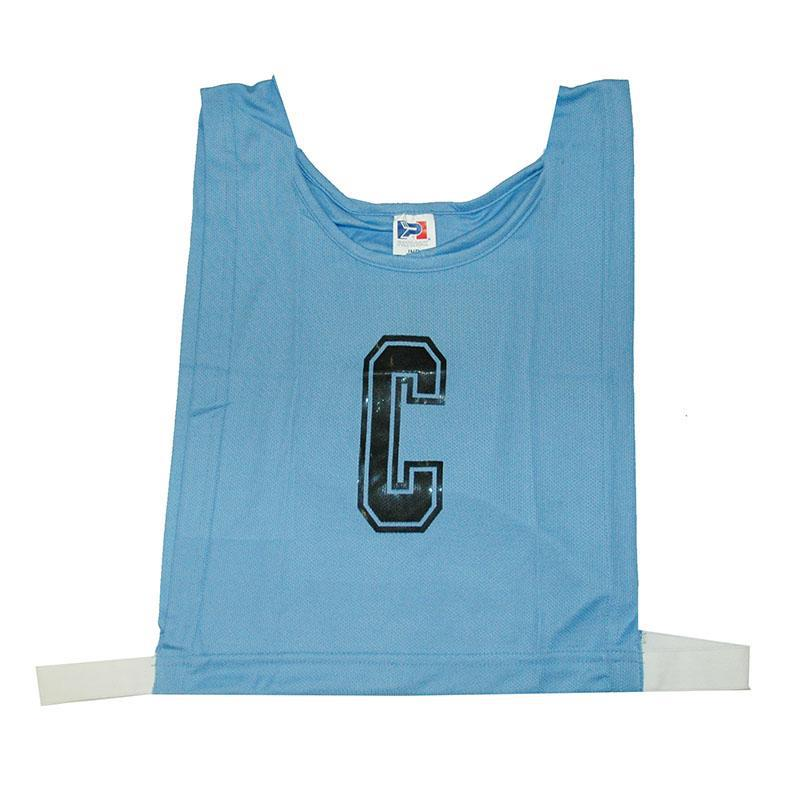 Light Blue Netball Bib Set