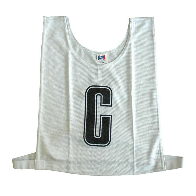 White Netball Bib Set