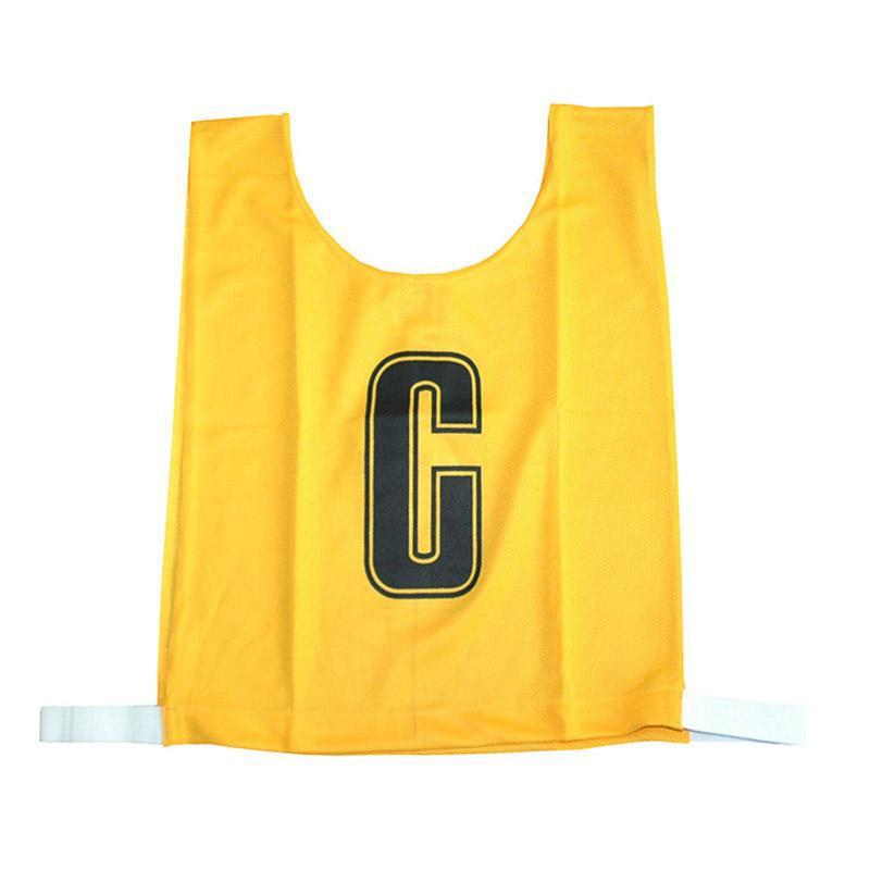 Yellow Netball Bib Set