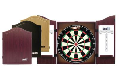 ONE80 Dartboard Cabinet MDF Gable-MO REPS® Fitness Store