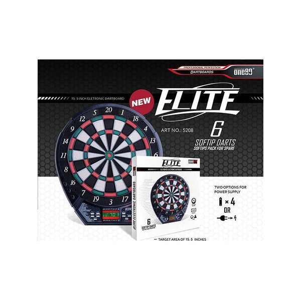 ONE80 Dartboard Electronic Elite-MO REPS® Fitness Store