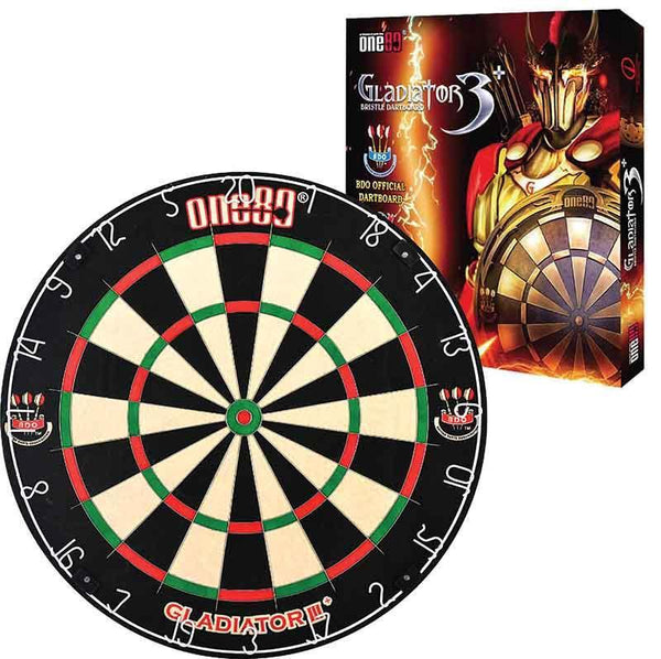 ONE80 Dartboard Gladiator III Plus-MO REPS® Fitness Store