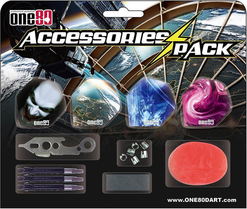 ONE80 Darts Accessories Pack-MO REPS® Fitness Store