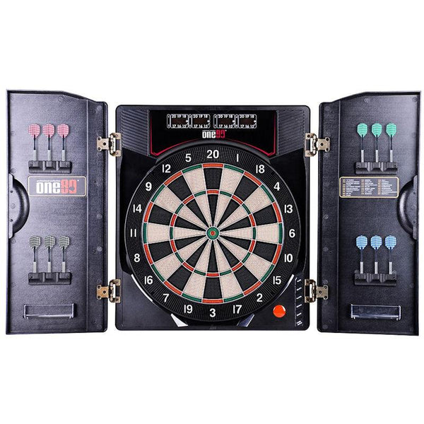 ONE80 Deluxe II Electronic Dartboard-MO REPS® Fitness Store