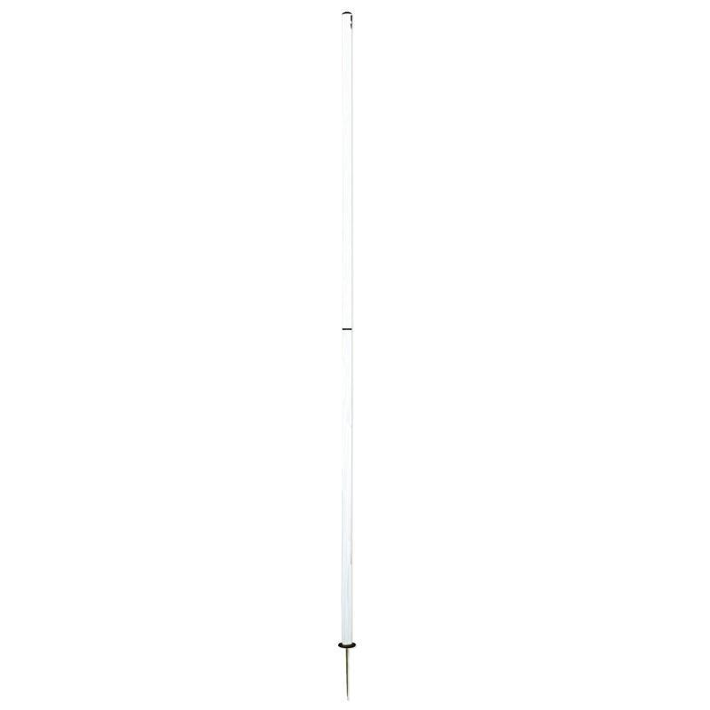 Patrick Agility Pole - 2pc Screw Base-White-MO REPS® Fitness Store