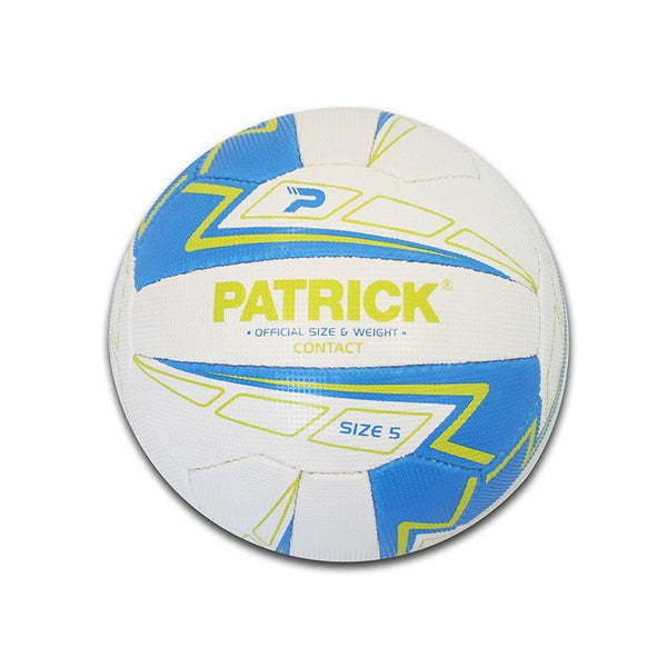 Patrick Contact Netball - Blue/Lime-MO REPS® Fitness Store