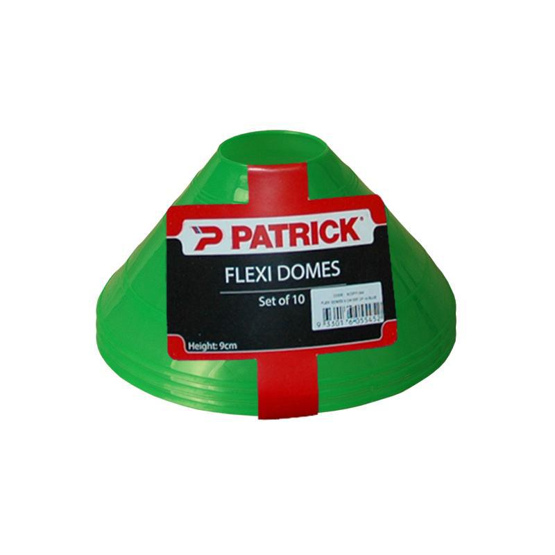 Patrick Flexi Dome Markers - Pack of 10-9cm-Green-MO REPS® Fitness Store