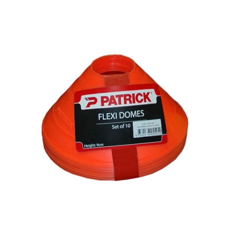 Patrick Flexi Dome Markers - Pack of 10-9cm-Orange-MO REPS® Fitness Store