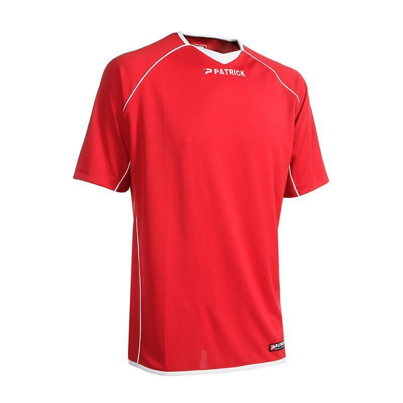 Patrick Girona Soccer Shirt - Short Sleeves-S-Red-MO REPS® Fitness Store