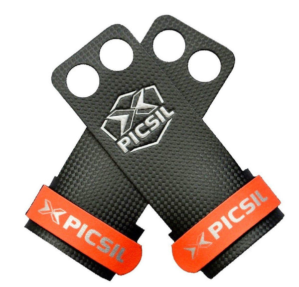 PicSil RX Grips - 2 Fingers-Small-Red-MO REPS® Fitness Store