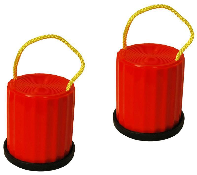 Plastic Shoe Tins - With Rubber Rim-MO REPS® Fitness Store